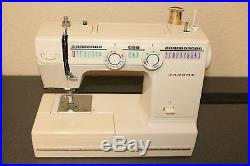 Janome Sewing Machine Model RX18S 110-120 Carrying Case Pedal Instructions