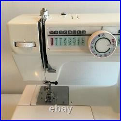 Janone RX18S Electric Domestic Sewing Machine with Carry Case, Foot Pedal, Works