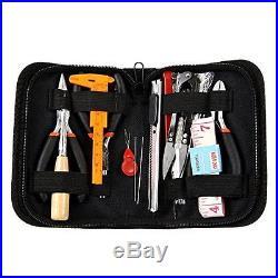 Jewelry Making Tool Starter Kit Repair Craft DIY Beading Carrying Case 16 Piece