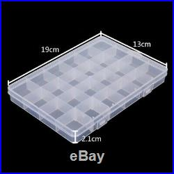 Jewelry Tool Box Case Craft Organizer Carrying Storage Jewelry Finding Boxes