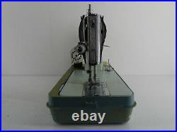 Jones Brother S/stitch Heavy Duty Sewing Machine In Carry Case D19