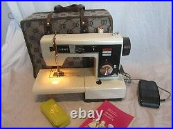 Jones VX520 Sewing machine With Accessories & Carry Case