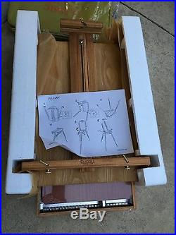 Jullian Full Sketchbox Art Artist Easel Plein Air Painting with Carrying Case