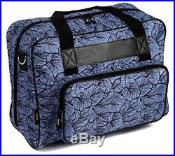 Kenley Sewing Machine Tote Bag Padded Storage Cover Carrying Case with Pockets