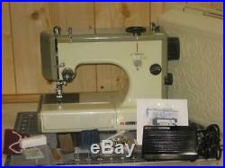 Kenmore 3/4 Size Model 1030 Multi Stitch Sewing Machine + Carry Case Very Nice