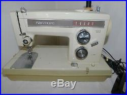 Kenmore Sewing Machine 158.13570 Heavy duty With samples+carrying case (N03A)