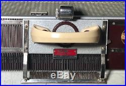 KnitKing Model 4500 Vintage Knitting Machine + Carrying Case British Made