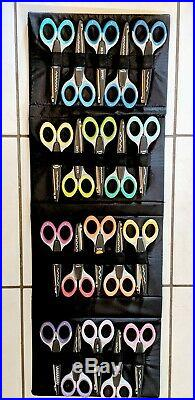Kraft Edgers Craft Ultra Grip 20 Decortive Scissors Set Stand Carrying Case