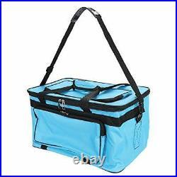 Large Art Craft Tote Bag Storage Box Foldable Art Supplies Carrying Bag Case