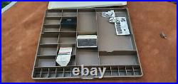 Large lot of presser feet for Bernina 930 sewing machine with Record Case
