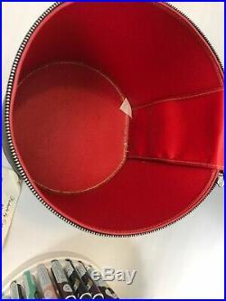 Liquid Embroidery Paint Lot 55 Cameo Tubes Vintage Black Carry Case