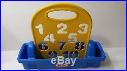 Little Tikes 6 Stencils and Carrying Case Craft Elephant Dinosaur Tractor