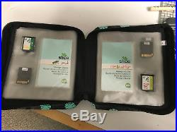 Lot of Making Memories Slice 23 Design Cards, tools, carry case