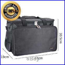 Luxja Sewing Machine Bag, Carry Case with Pockets for Range of Machines and