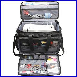 07e15bcea5af Craft Carrying Case | Luxja Sewing Machine Bag, Sewing Machine Carry ...