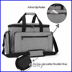 Luxja Sewing Machine Carrying Bag with Removable Pad, Travel Case for Sewing Mac