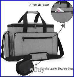 Luxja Sewing Machine Carrying Bag with Removable Padding Pad, Travel Case for Se