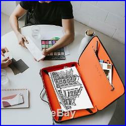 Luxury Art Portfolio Case 12 x 17 A3 Artist Carrying Bag Premium Business A