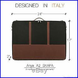 Luxury Art Portfolio Case 17 X 24 A2 Artist Carrying Bag Premium Business A