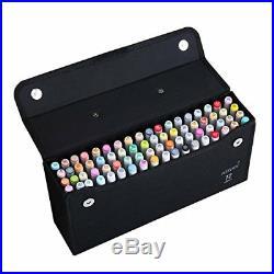 MEEDEN Professional Marker Carry Case Lattice Style Empty Holder Marker Storage