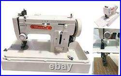 MZ-518 Portable Walking-Foot/Zigzag Sewing Machine with Machine + Carrying Case