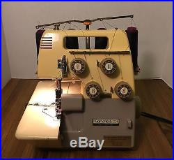 Made For Bernina Bernette 234 Overlock Complete With Carrying Case