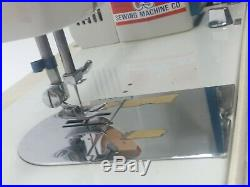 Morse Heavy Duty Sewing Machines Model 6300 & Carrying Case Tested & Working