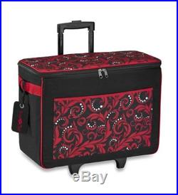 NEW BROTHER CATOTER Brother Carrying Case Rolling Tote for Paper Craft Machine