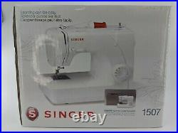 NEW SEALED Singer Model 1507 Easy-to-Use Free-Arm Sewing Machine + Canvas Cover