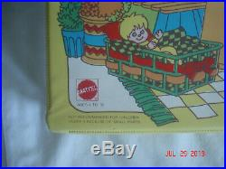 NICE! 1976 MATTEL SUNSHINE FAMILY DOLL & CRAFT CARRYING CASE ONLY MADE in USA