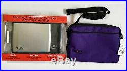 NIP Flip-Pal 100C Mobile Flatbed Scanner & Carrying Case Photos Crafts Art Books