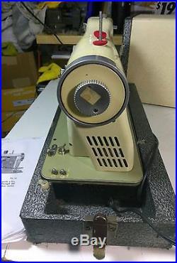 Necchi BU SUPERNOVA Sewing Machine with Original Carrying Case INDUSTRIAL