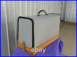 Necchi Supernova Automatica Sewing Machine Portable Carrying Case Vintage
