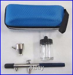 New! Badger Airbrush Company 150-1 (m) Medium Airbrush + Storage/carrying Case