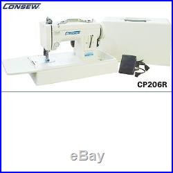 New Consew CP 206R COMPLETE Portable Walking Foot Machine with Carrying Case