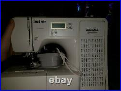 New Sealed Brother Project Runway CS5055PRW Electric Sewing Machine, 50 Stitch