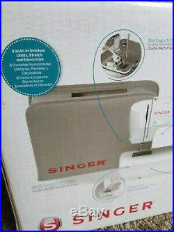 New Singer 1507 Easy-to-Use Free-Arm Sewing Machine with Canvas Cover Sealed
