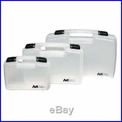 OFFER Artbin Clear Strong Art + Craft Hobby Storage Carrying Case All Sizes