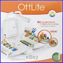Ottlite Craft Carrying Case WithLamp White KCY008