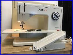 PFAFF 1222 SEWING MACHINE WITH CARRYING CASE AND PEDAL READ DESCRIPTION Please