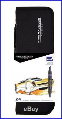 PRISMACOLOR PREMIER Marker Art, Double-Ended Art Set with Carrying Case, Box