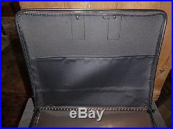 Professional Artist Art Portfolio Carry Carrying Case 17x14 Drawing 35 Sleeves