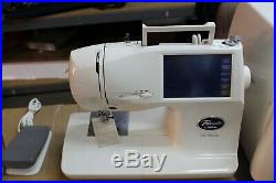 Pacesetter by Brother PC-8500 Sewing Machine with Carry Case & Extras