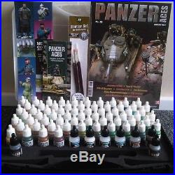 Panzer Aces Range Box Set (64 colours + 8 Auxilary + Carry Case)- VAL70174