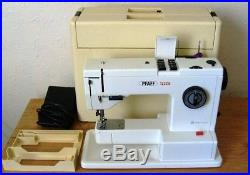 Pfaff 1222E Sewing Machine Hard Carry Case (NOW COMPLETE WITH ATTACHMENT!)