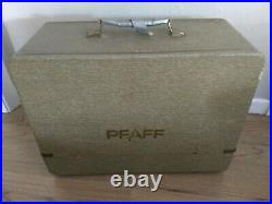 Pfaff 230 Sewing Machine with Carrying Case & Accessories working condition