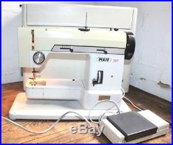 Pfaff 297 sewing machine with hard carry case and pedal