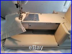Pfaff 360 Sewing Machine, Plus Foor Control, Carrying Case & Pattern Wheel