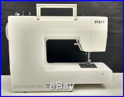 Pfaff Hobby Sewing Machine Model 1016 White Carrying Case Home Craft Sergers