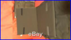 Plaid QVC Scrapbooking Carrying Case Craft Tote Bag Organizer PVC Black